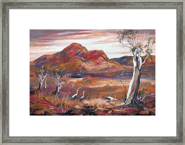 Pilbara, Outback, Western Australia, Framed Print