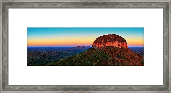 Pilot Mountain  Framed Print