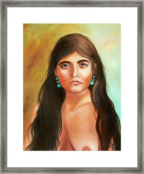 Pima Maiden Framed Print