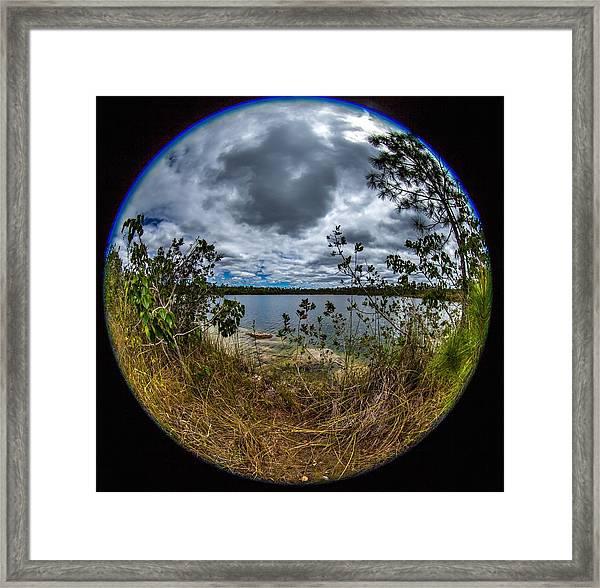 Pine Glades Lake 18 Framed Print