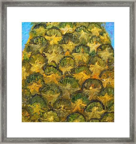 Pineapple Angels Framed Print