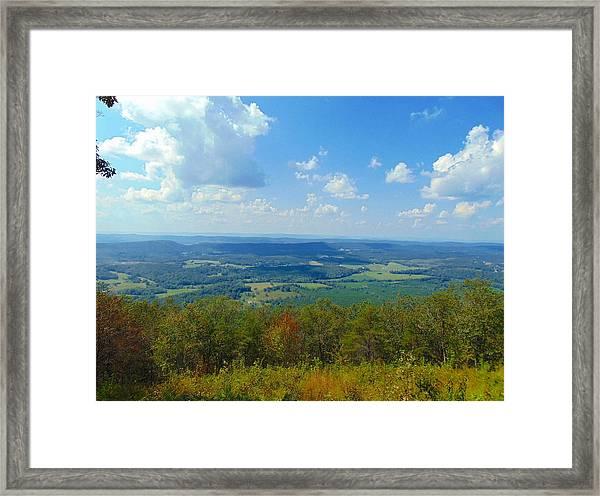 Pinhoti Trail Views Framed Print