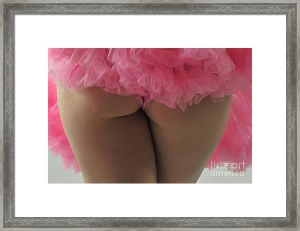 Pink Fanny Framed Print