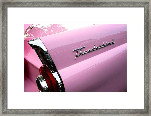 Pink Thunderbird Framed Print