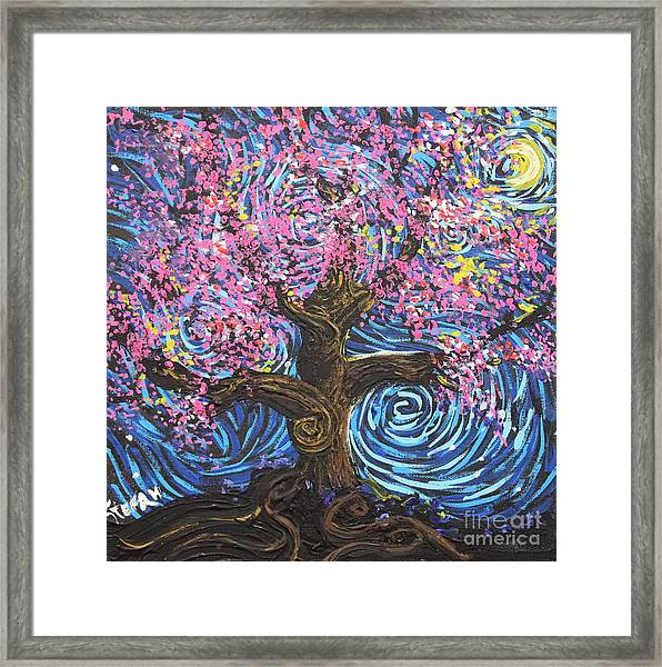 Pinky Tree Framed Print