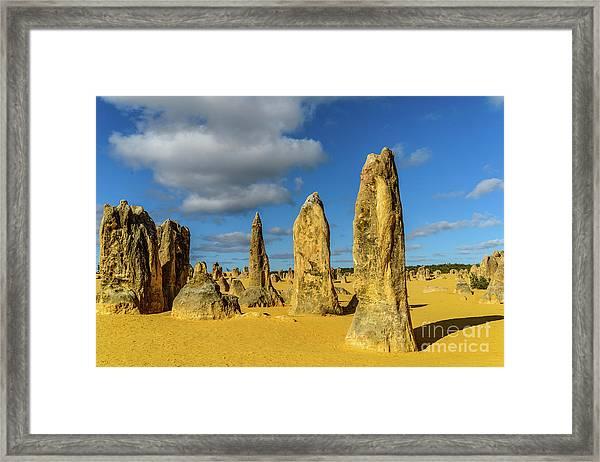 Pinnacles 6 Framed Print
