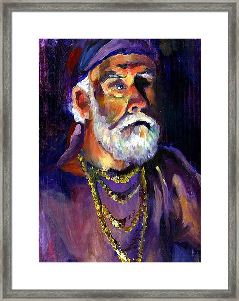 Pirate Bob Framed Print