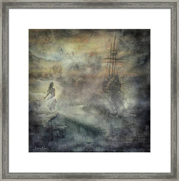 Pirates Cove Framed Print