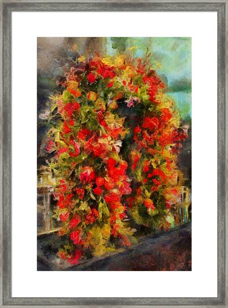 Pi's Flowers 2 Framed Print