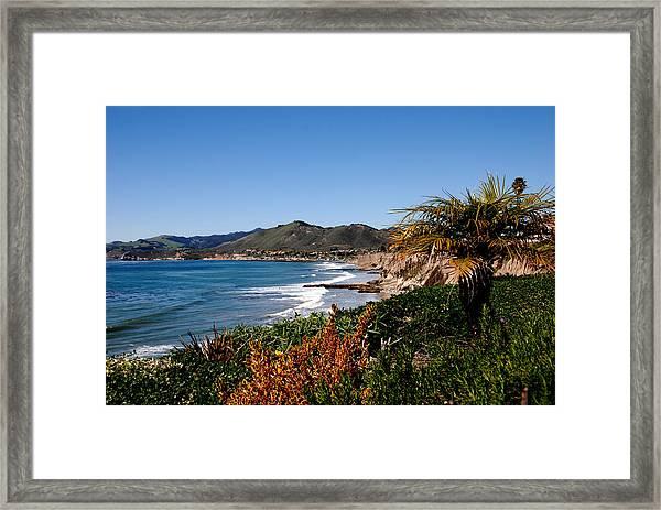 Pismo Beach California Framed Print