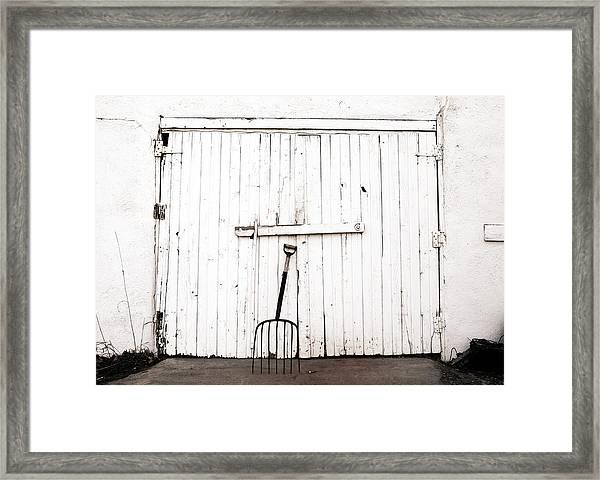 Pitch Fork Framed Print