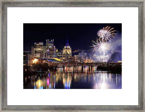 Pittsburgh 1  Framed Print