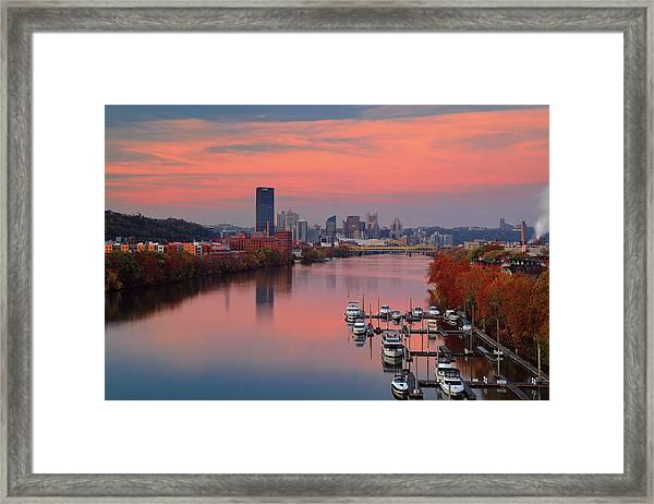 Pittsburgh 31st Street Bridge  Framed Print