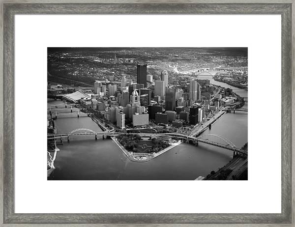 Pittsburgh 8 Framed Print