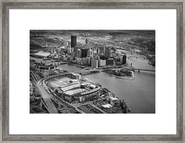 Pittsburgh 9 Framed Print