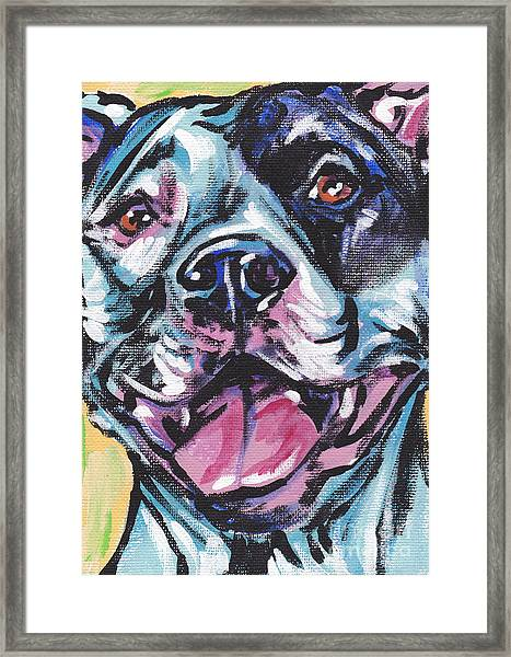 Pity The Pit Framed Print