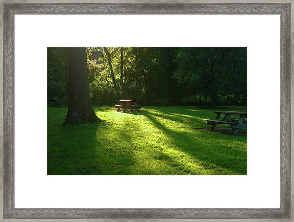 Place Of Honor Framed Print