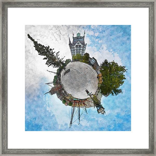 Planet Gelderseplein Rotterdam Framed Print