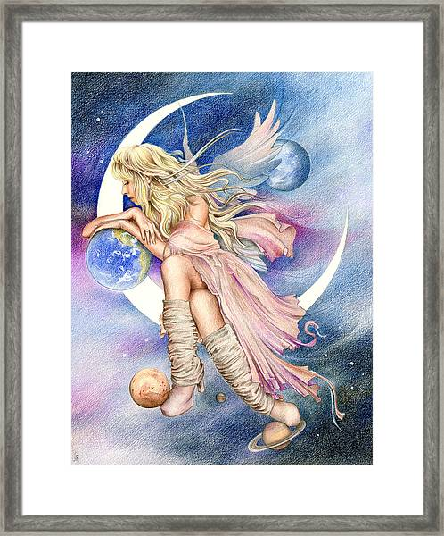 Planets Of The Universe Framed Print