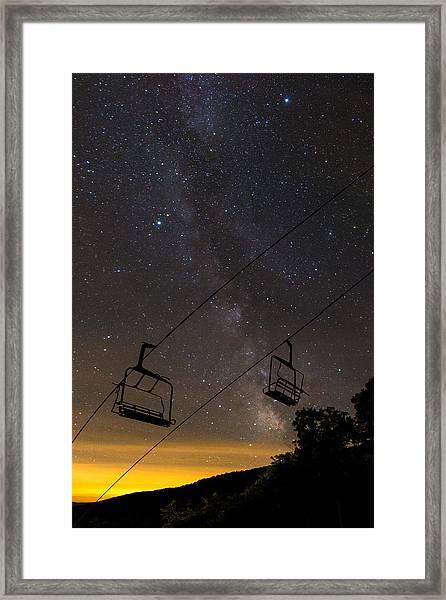Plattekill Milky Way 2 Framed Print