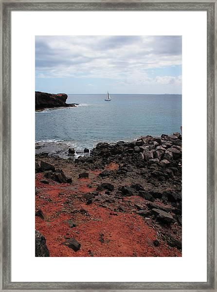 Playa Blanca - Lanzarote Framed Print