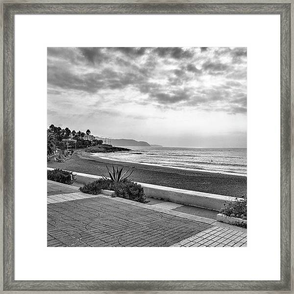 Playa Burriana, Nerja Framed Print