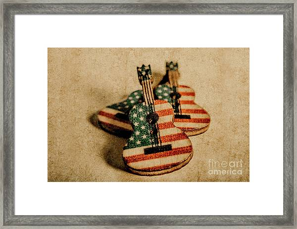 Played In America Framed Print