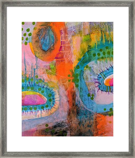 Playground In The Sea II Framed Print