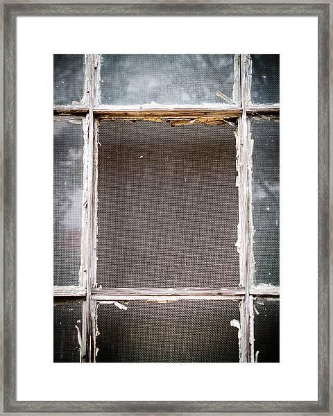 Please Let Me Out... Framed Print