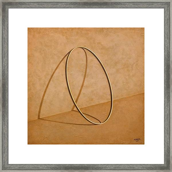 Plenty Of Emptiness Framed Print by Horacio Cardozo