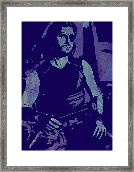 Plissken Framed Print