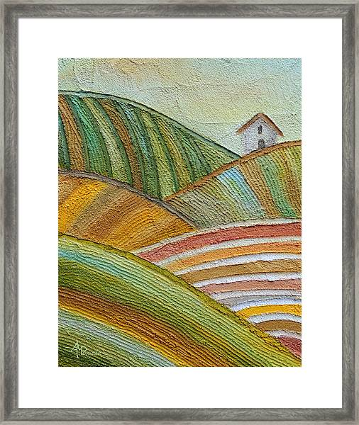 Plowing Through Framed Print