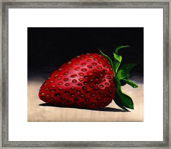 Plump And Juicy Framed Print