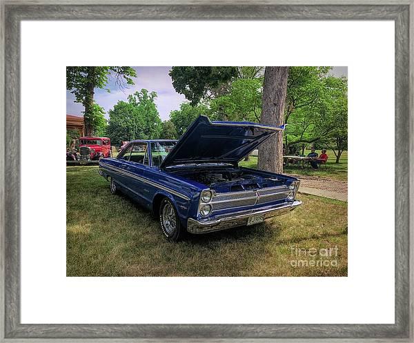 Plymouth Sport Fury 1966 Framed Print