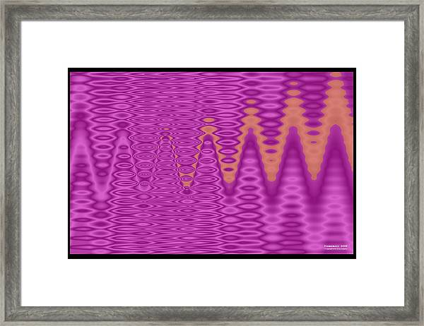 Framed Print featuring the digital art Pm2003 by Brian Gryphon