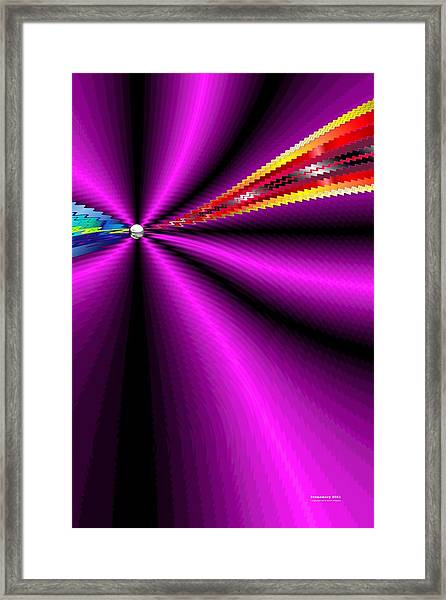 Framed Print featuring the digital art Pm2021 by Brian Gryphon