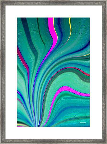 Framed Print featuring the digital art Pm2117 by Brian Gryphon
