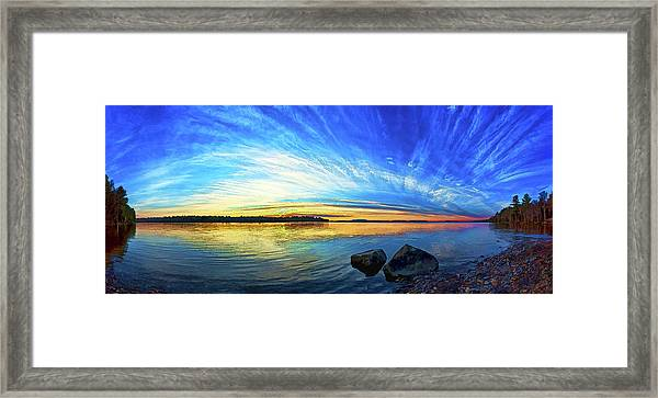 Pocomoonshine Sunset 1 Framed Print