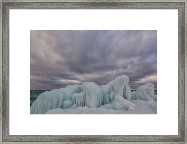 Point Betsie 11 Framed Print