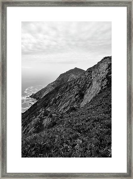Point Reyes II Bw Framed Print