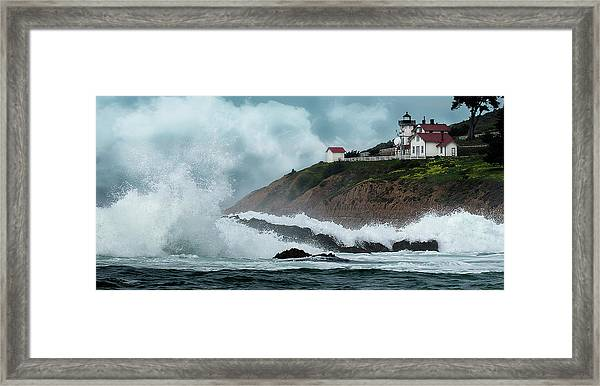 Point San Luis Lighthouse Framed Print