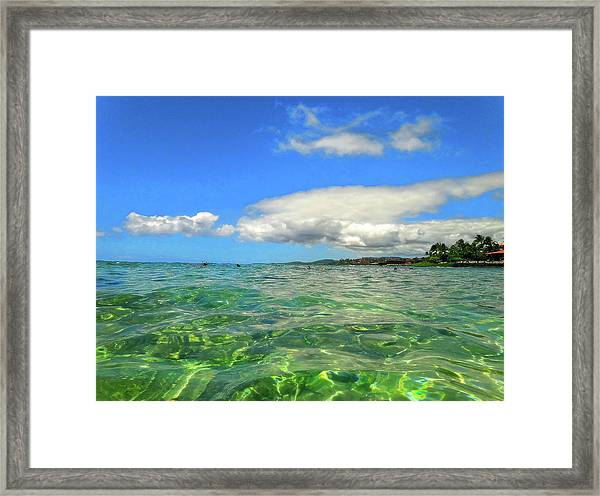 Poipu Beach Framed Print