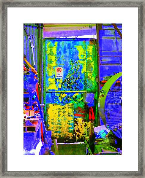 Polychromous Framed Print by Kirk Long