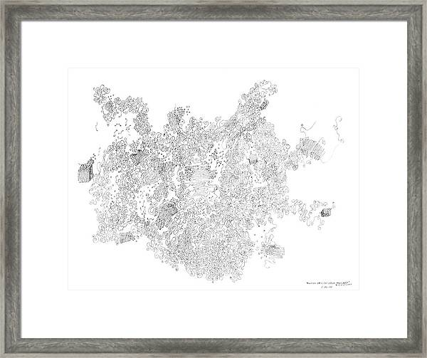 Polymer Crystallization With Modifiers Framed Print