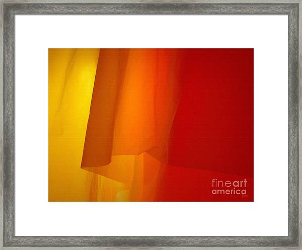 Poncho Abstract 5 Framed Print