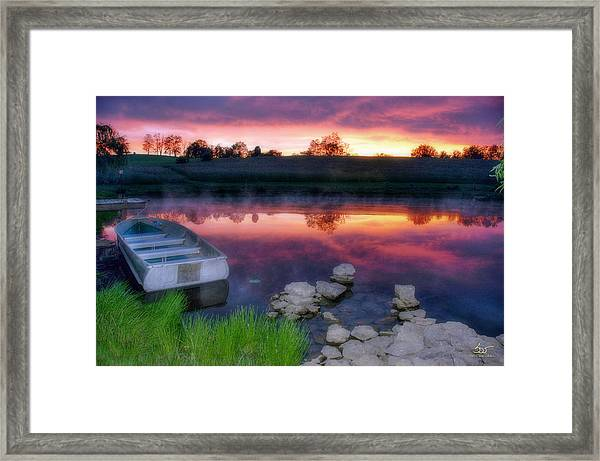 Pond Dreams 9 Framed Print