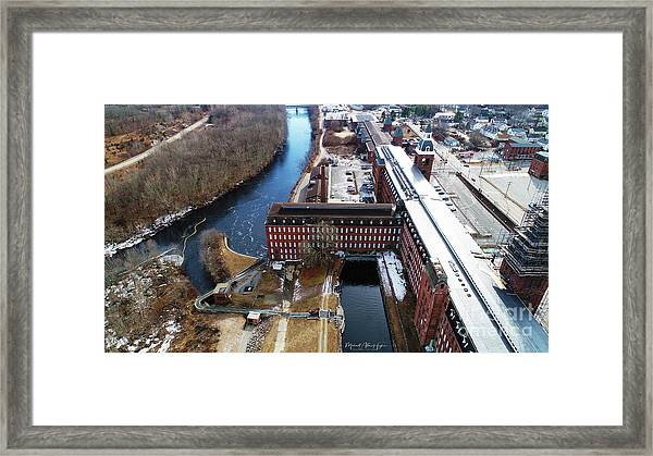 Ponemah Mill Framed Print