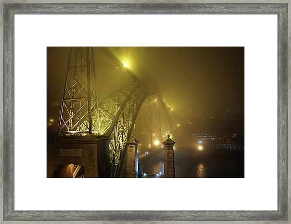 Ponte D Luis I Framed Print