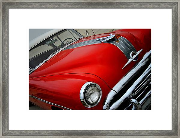 Pontiac Chieftain 1954 Front Framed Print