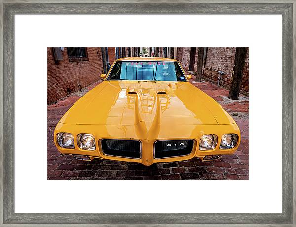Pontiac Muscle Framed Print